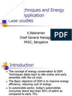 DSM Techniques, Application