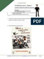 Guia de Aprendizaje Lenguaje 8b Semana 26 2014