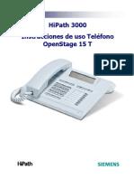Manual Teléfono OpenStage 15 T- DIGITAL