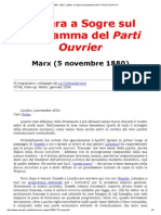MIA - Marx_ Lettera a Sogre Sul Programma Del _i_Parti Ouvrier__i
