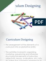 My Report Curriculum Designing