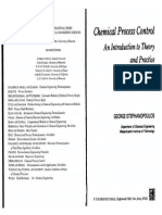 Chemical Process Control By George Stephanopoulos Pdf