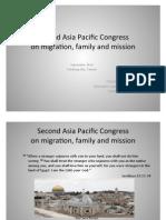 second asia pacific congress