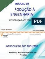 10 Introdução Aos Projetos - 2º Sem 2013