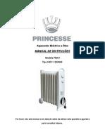 Manual Aquecedor Oleo Princesse RM-9