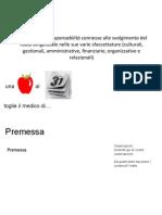 3.1 Funzioni e Responsabilità Connesse Allo Svolgimento Del Ruolo