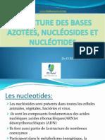 Structure des bases azotées, nucléosides et nucléotides (2).pptx
