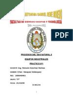Procesos Del Gas Natural II (Practico Nº 1)