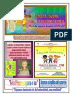 Gaceta Juvenil Ecb Nº 67 - Setiembre 2014