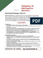 Inbjudan Rtf1 2014-15 Vatten