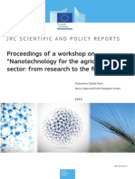 Proceedings of a Workshop on Nanotechnology for the Agricultural Sector From Research to the Field