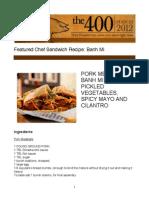 Sandwich Recipe1 PDF