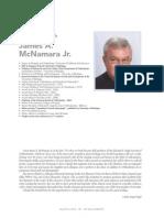 An interview with James A. McNamara Jr.