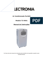 Manual Ar Condicionado Portatil Electronia TC-9061 - 1239947