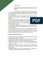 Características Del Pensamiento Preoperacional Seegún Piaget