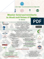 "Master ""Studio dell'Islam in Europa"""