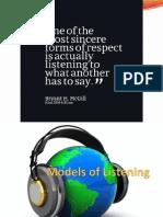 Models of Listening