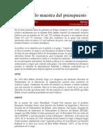 Aguayo 13-12-09 Gordillo Maestra Del Presupuesto