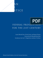 Federal Prosecution for the 21st Century