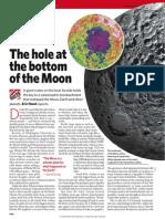 Hole at Bottom of Moon