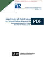 Job safety analysis Blood Worker