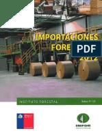 Importaciones forestales 2012