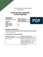 Silabo Modular Instalacion y Configuracion de Redes de Comunicacion 2014-i