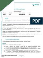 FIS BT Codigos de Lancamento e Reflexos Da Apuracao