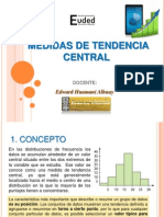 Medidas de Tendencia Central Euded