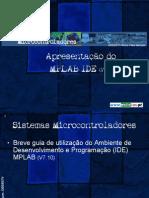 Apresentação em Slide do  MPLAB IDE