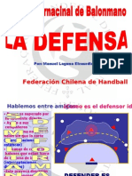 La Defensa. Manolo Laguna