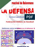 La Defensa. Manolo Laguna
