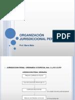 Organización Jurisdiccional Penal