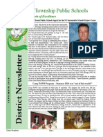 District Newsletter Fall 2014