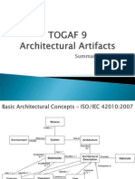 TOGAF 9 Architectural Artifact