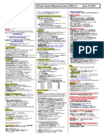 Quic Reference Card 737