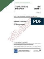 Iec60044-1 Transformadores de Instrumentos
