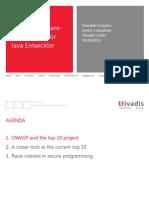 120510 Sichere Software-Entwicklung Fuer Java Entwickler
