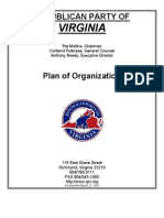 Republican Party of Virginia Party Plan (Amended March 2014)