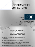 Role of Climate in Architecture