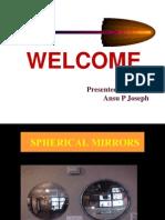 Powerpoint Presentation-Spherical Mirrors