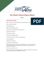 14434390 the Master Mason Degree Ritual