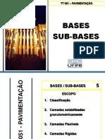 Bases e SubBase Pavimentacao