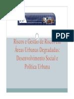 Gestao de Riscos Em Areas Urbanas