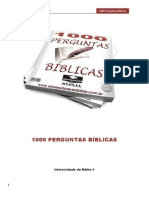 1000 Perguntas Bíblicas - Universidade Da Bíblia