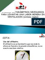 Calculos de Ventilacion (Sistema Ingles)