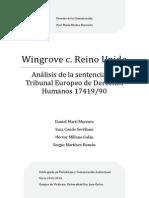 Wingrove contra Reino Unido (STEDH 17419/90)