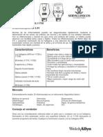 Manual Oftalmoscopio Welch Allyn