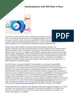 Curso De Posicionamiento web SEO Paso A Paso.