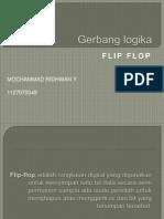 Gerbang logika FLIP-FLOP
